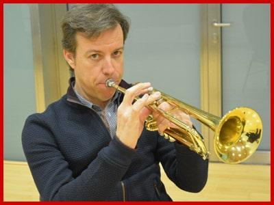 Profesor trompeta Rubén marques