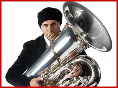 Sergio Carolino profesor de tuba