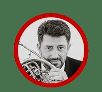 Juan M Gómez clases online trompa