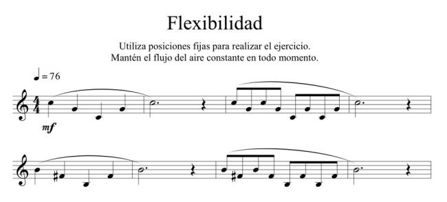 control de la flexibilidad